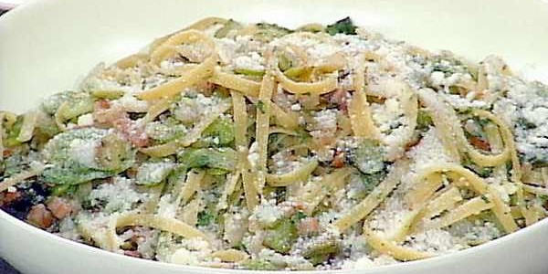 Pasta with Fava Beans